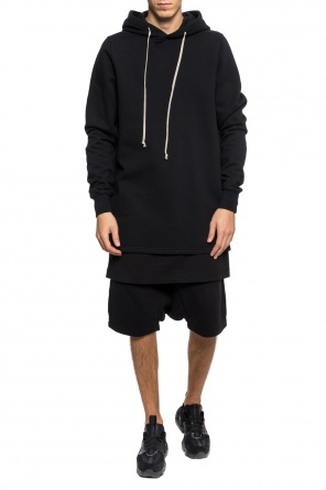 Double-layered shorts with a loose cut od Rick Owens DRKSHDW
