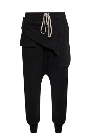 Sweatpants with pockets od Rick Owens DRKSHDW