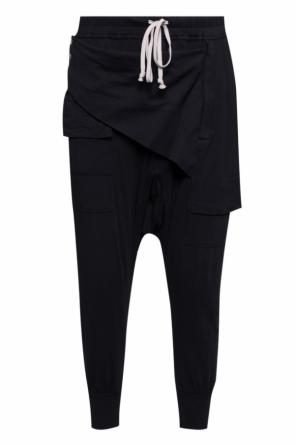 Dropped crotch trousers od Rick Owens DRKSHDW