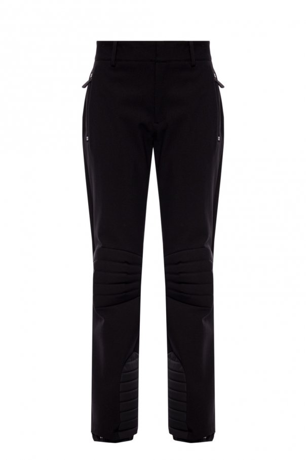 Moncler Grenoble Ski trousers with sewn-in zippers