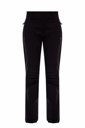 Ski trousers with sewn-in zippers od Moncler Grenoble