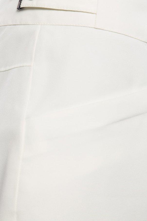 Spodnie narciarskie z technologią recco od Moncler Grenoble
