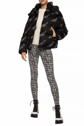 Embroidered leggings od Moncler Grenoble