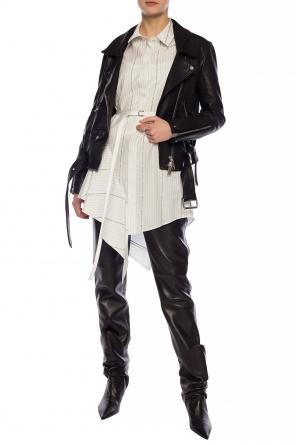 Leather trousers od Ami Alexandre Mattiussi