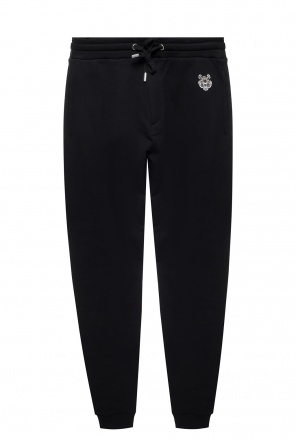 Sweatpants with a tiger head motif od Kenzo