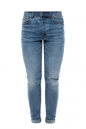 Distressed jeans od Amiri