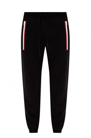 Logo-patched sweatpants od Moncler