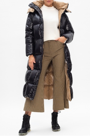 Patterned pleat-front trousers od Moncler Genius