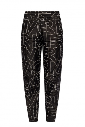 Patterned trousers od Moncler Grenoble