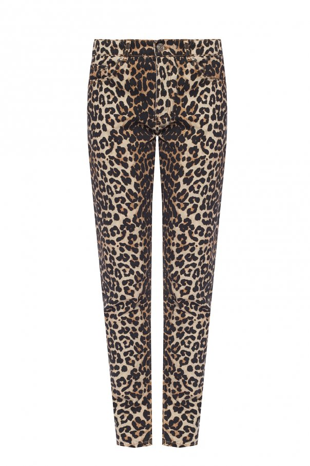 Ganni Patterned jeans