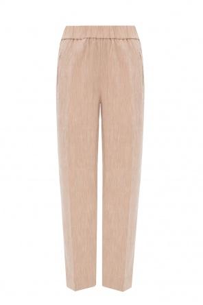 Pleat-front trousers od Ganni