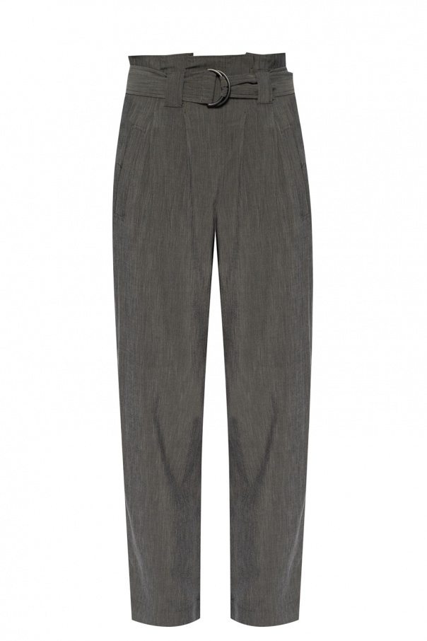 Ganni Straight leg trousers