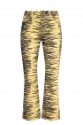 Ganni Jeans with animal pattern
