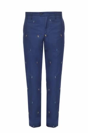 Embroidered trousers od Kenzo