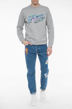 Patched jeans od Kenzo