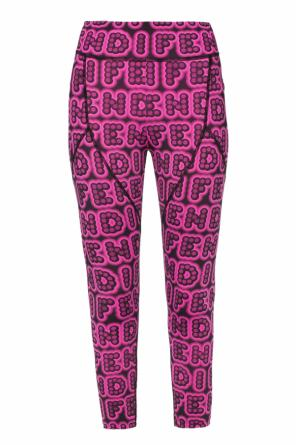 Logo leggings od Fendi