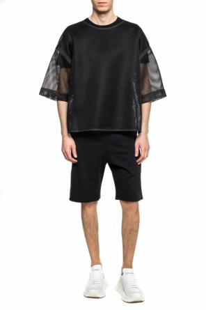 Eye motif shorts od Fendi