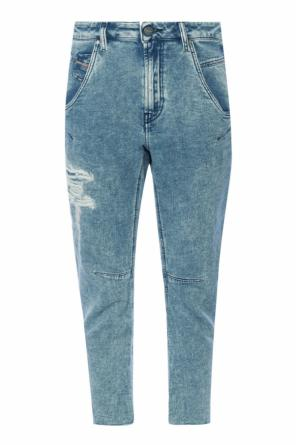 Fayza-t' jeans with holes od Diesel