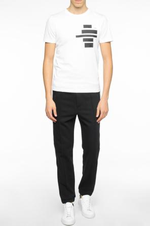 Side-stripe sweatpants od Fendi