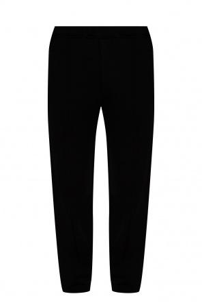 Side stripe sweatpants od Fendi