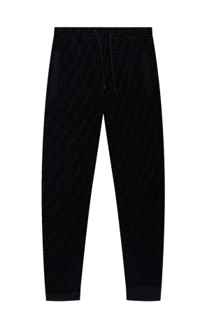 Sweatpants with logo od Fendi