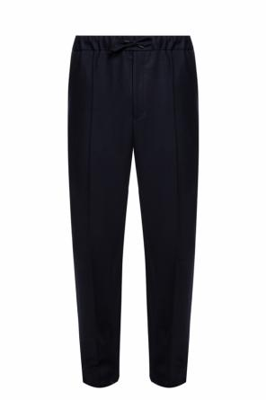Trousers with sewn creases od Fendi
