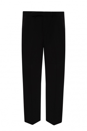 Pleat-front trousers od Fendi