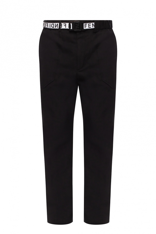 Fendi Belted trousers