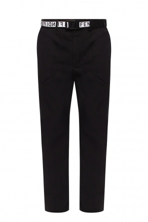 Belted trousers od Fendi