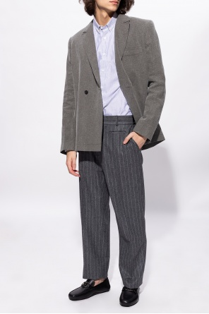 Pleat-front trousers od Fendi