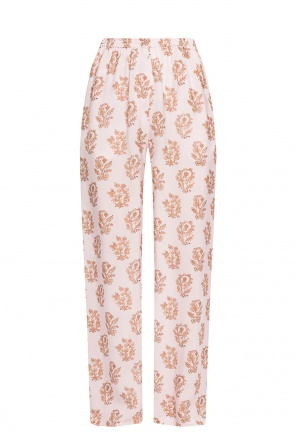 Wide-legged patterned trousers od Acne