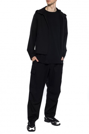 Trousers with logo od Y-3 Yohji Yamamoto