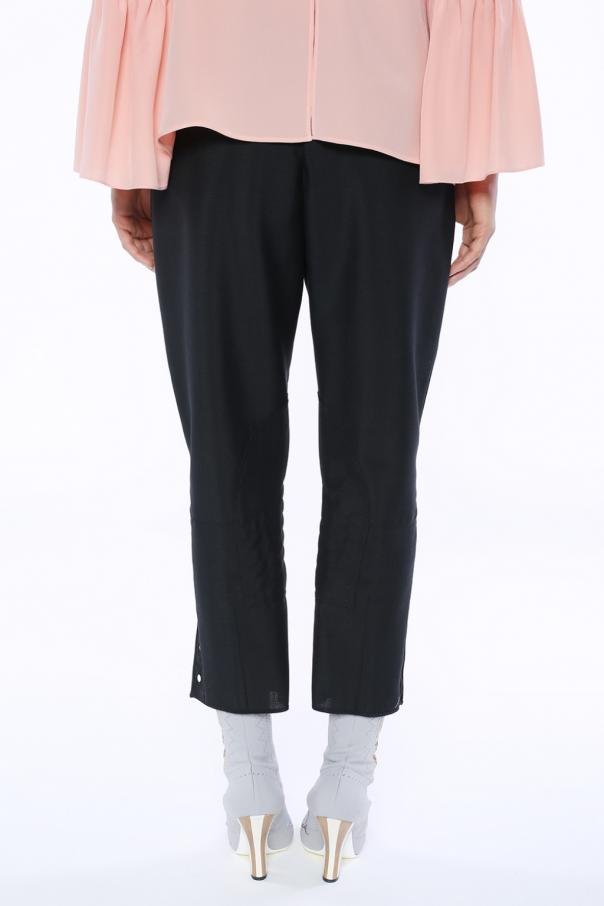 Embellished trousers od Fendi