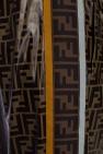Logo-embroidered trousers od Fendi