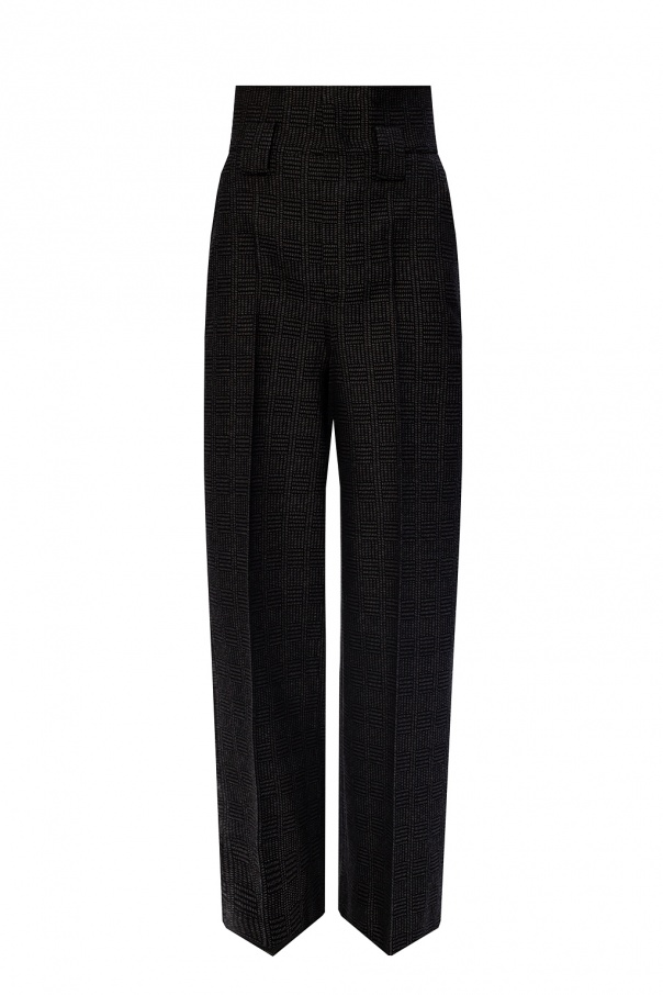 Fendi High-waisted trousers