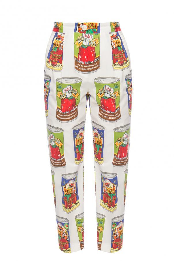 cdc92942a8d1c Printed dress Dolce   Gabbana - Vitkac shop online