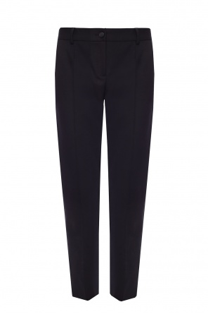 Pleat-front trousers od Dolce & Gabbana