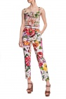 Dolce & Gabbana Patterned creased trousers