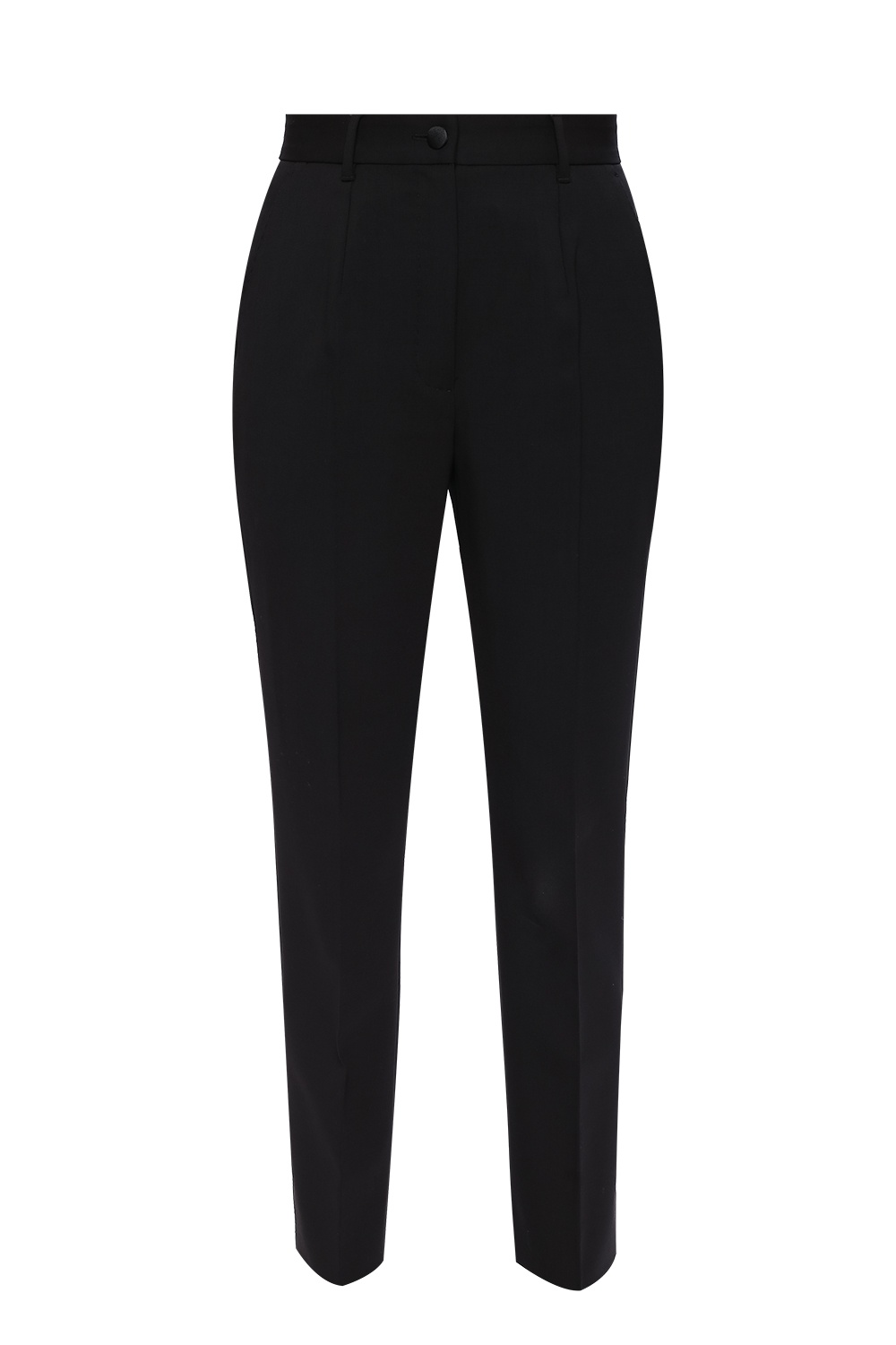 Dolce & Gabbana Wool pleat-front trousers