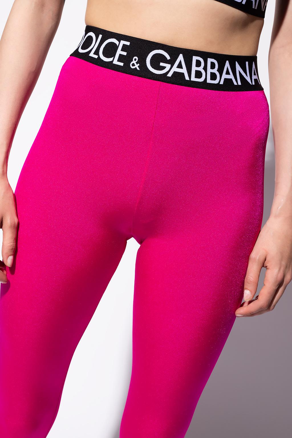 Dolce & Gabbana logo打底裤