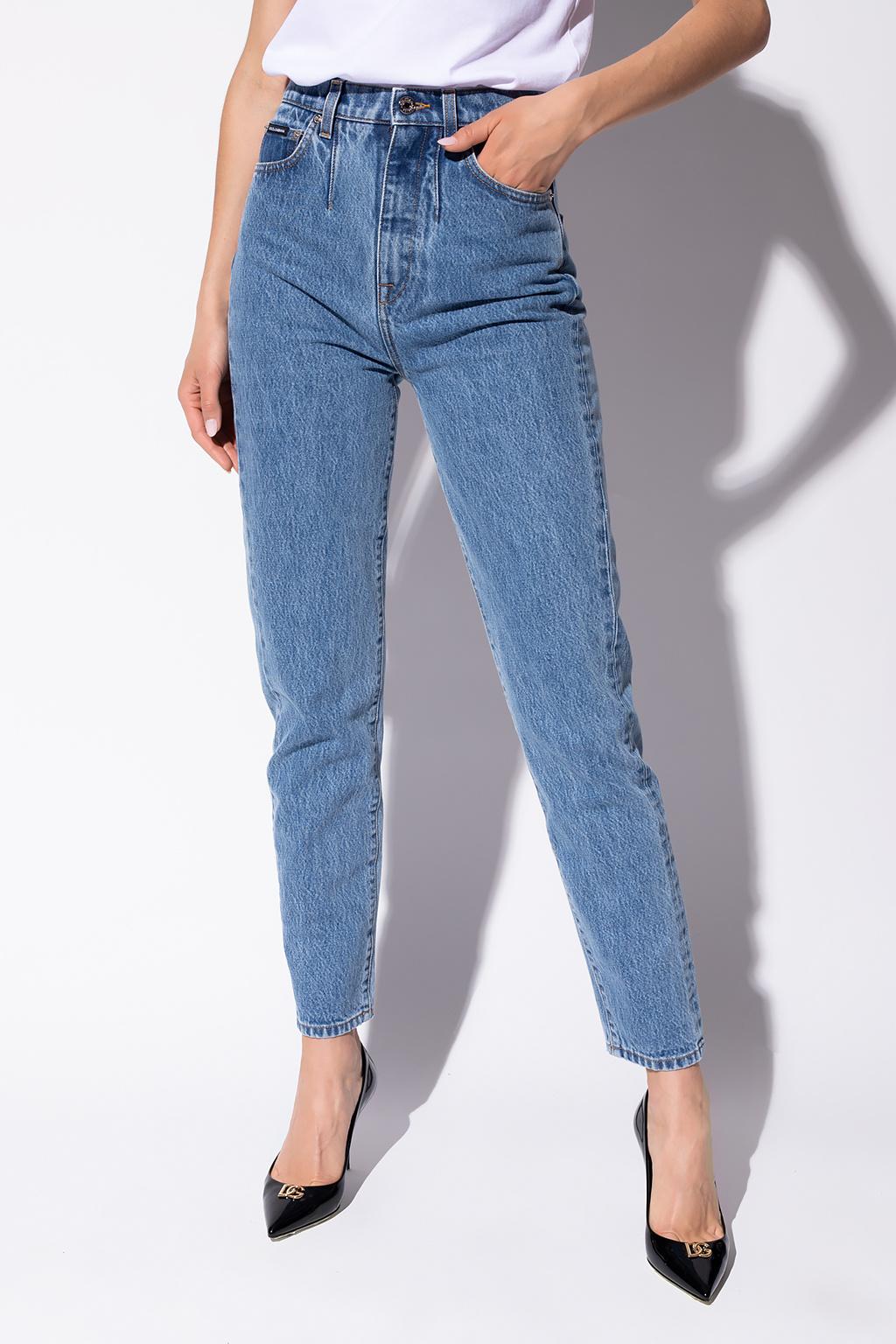 Dolce & Gabbana 高腰牛仔裤