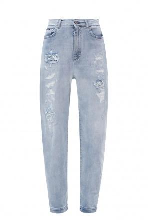High-waisted jeans od Dolce & Gabbana