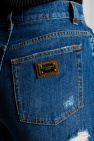 Dolce & Gabbana 仿旧及腰牛仔裤