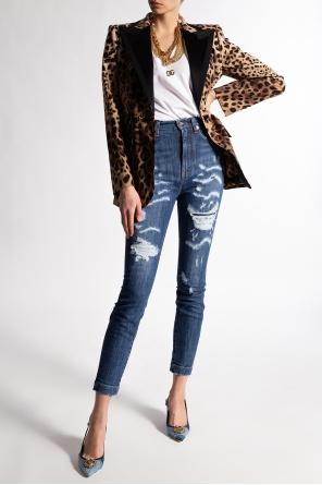 Stonewashed jeans od Dolce & Gabbana