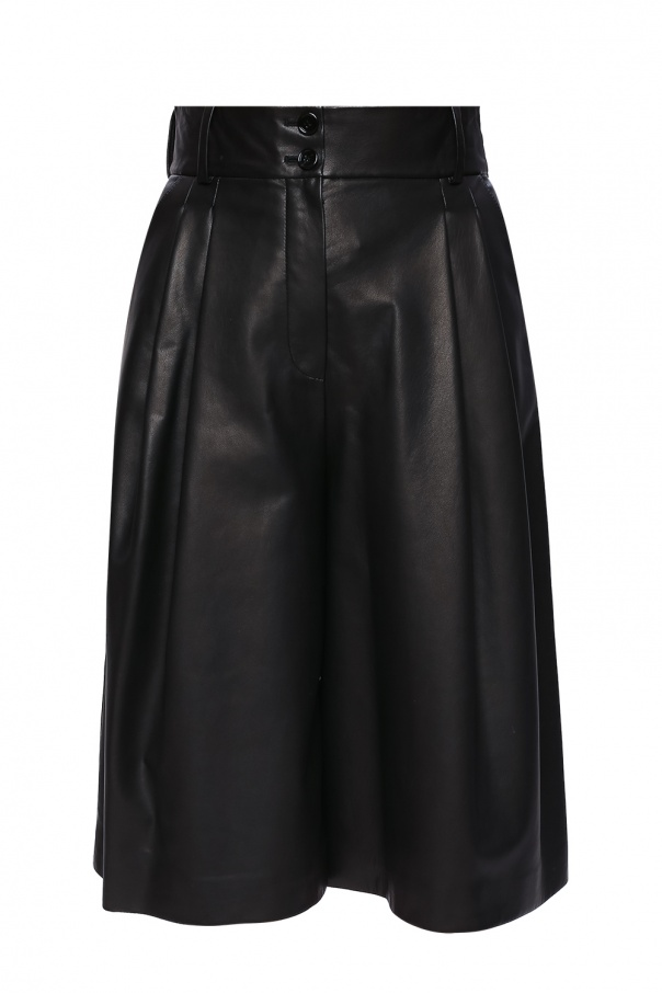 Dolce & Gabbana Leather trousers