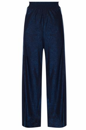 Side-stripe wide trousers od Golden Goose