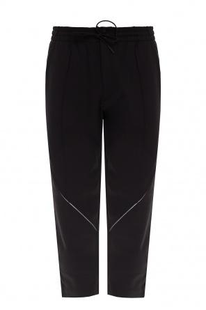 Pleat-front sweatpants od Y-3 Yohji Yamamoto