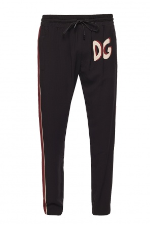 Trousers with logo od Dolce & Gabbana
