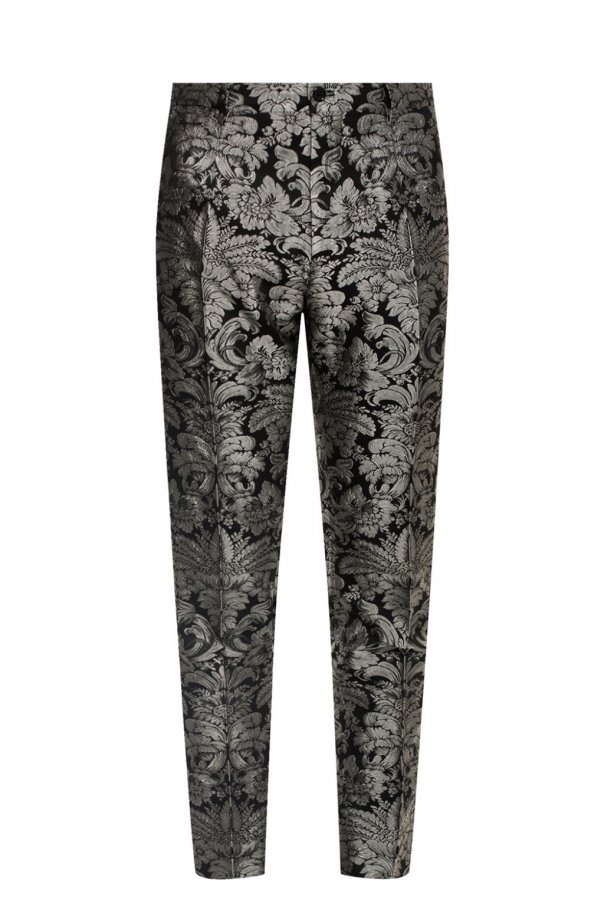 Floral pattern trousers od Dolce & Gabbana