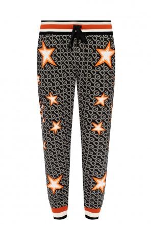 Printed sweatpants od Dolce & Gabbana